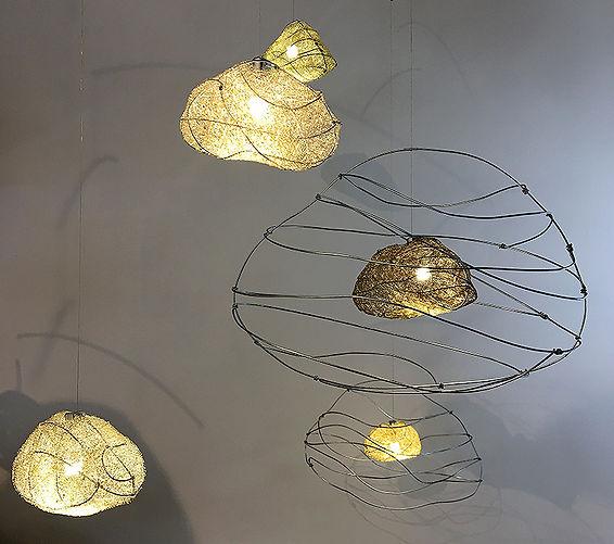 5 Sketchy Clouds Sculptural Light by Umbra & Lux