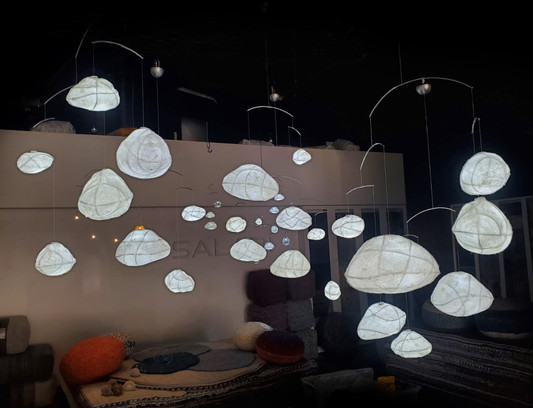 Fluffy Clouds - Sculptural Lights by Umbra & Lux