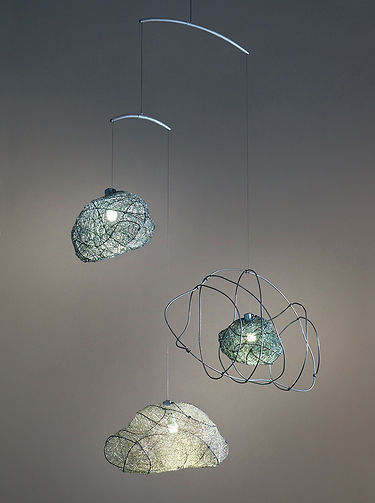 3 Sketchy Clouds Sculptural Light by Umbra & Lux
