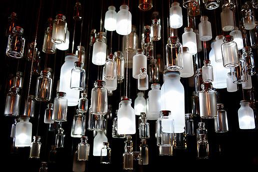 Glass Cloud Sculptural Light by Umbra & Lux