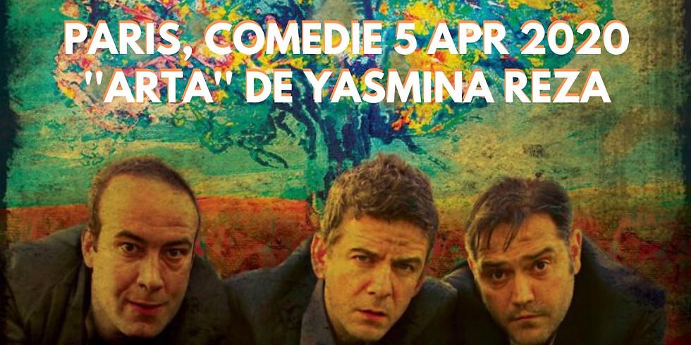 Paris, Comedie - ''Arta'' de Yasmina Reza, regia Cristi Juncu