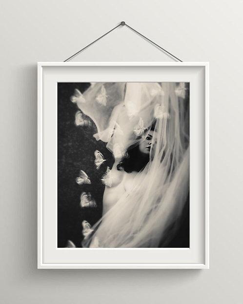 Moonlight - Fine Art Portrait - Photography - Digital Download