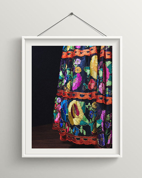 Mexican Dress - Fine Art - Photography - Digital Download