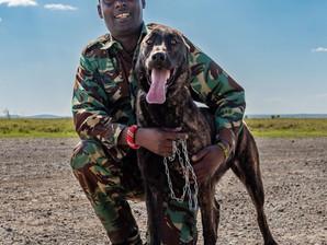 Rekari is deployed to the Ol Pejeta Conservancy