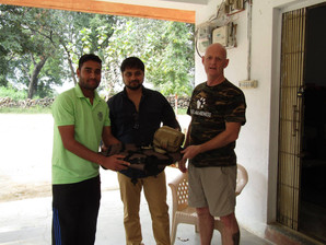 ASA first aid kits & Armour for the Pench Tiger Reserve Dog section, India