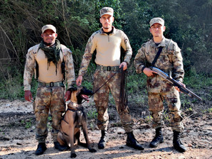 First tracker dog deployed to Belize