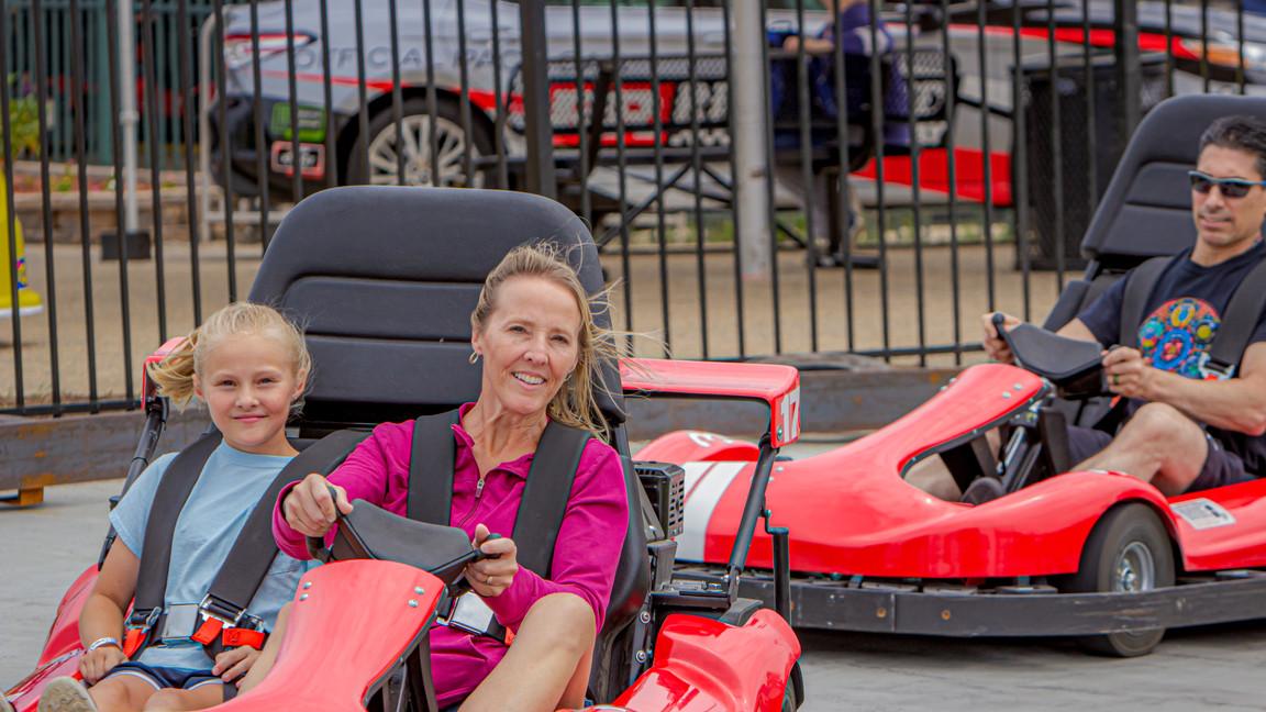 Thunder Speedway Mom & Daughter Racing