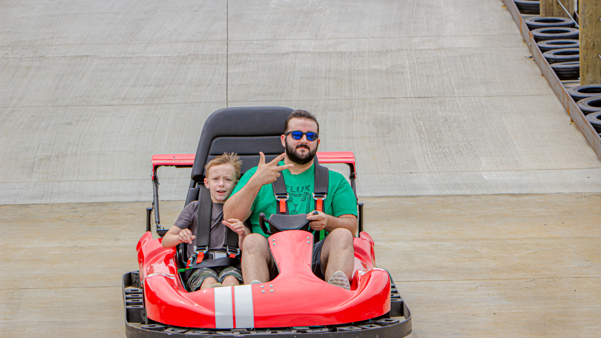 Thunder Speedway - Dad & Son Racing