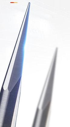Фреза прямая двухзаходная, для обработки глубокого рельефа, хвостовик 6мм