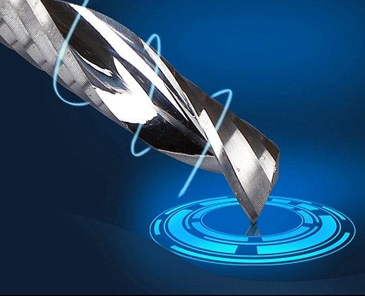 Фрезы спиральные одно-заходные для раскроя листовых материалов