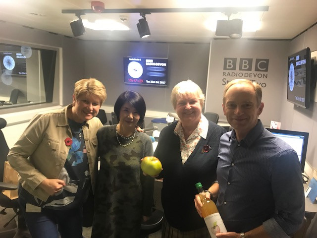 BBCラジオデボンにセリアさんと出演 短い時間ですが・・・