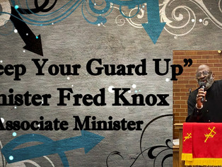 """""""Keep Your Guard Up"""""""