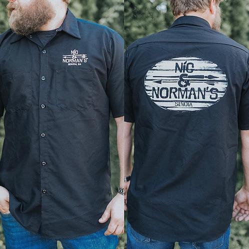 Nic & Norman's Button Down Shop T-Shirt