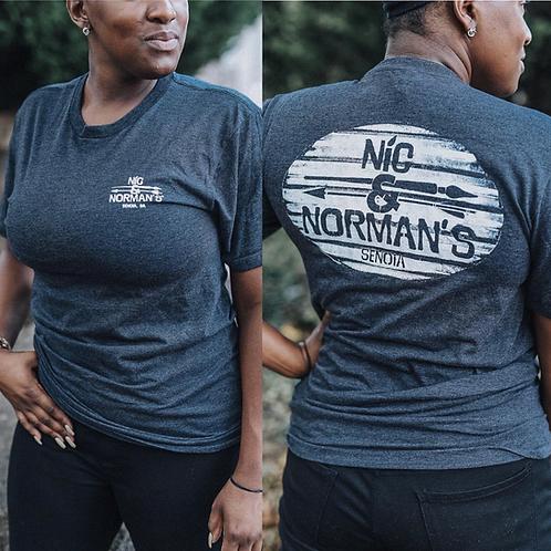 Nic & Norman's Sign Logo T-Shirt