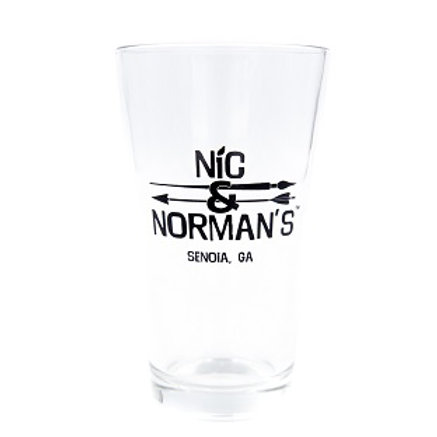 Nic & Norman's Pint Glass