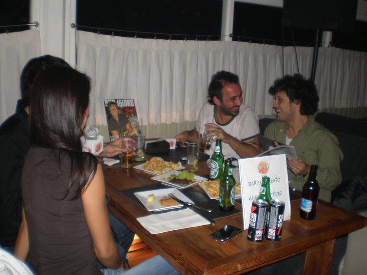 Darío Lopilato y Andrea Estévez - Abril de 2010