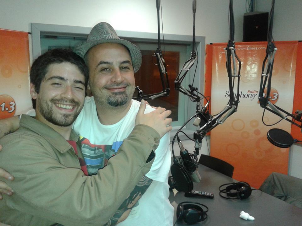 Lucas y Nico - Septiembre de 2014