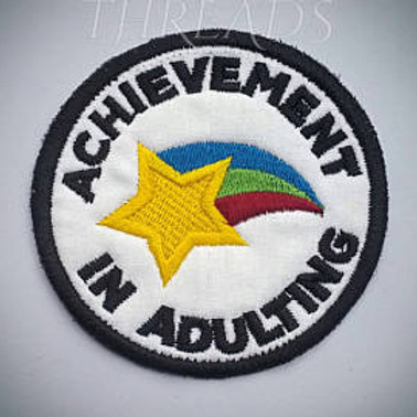 Adulting Patches