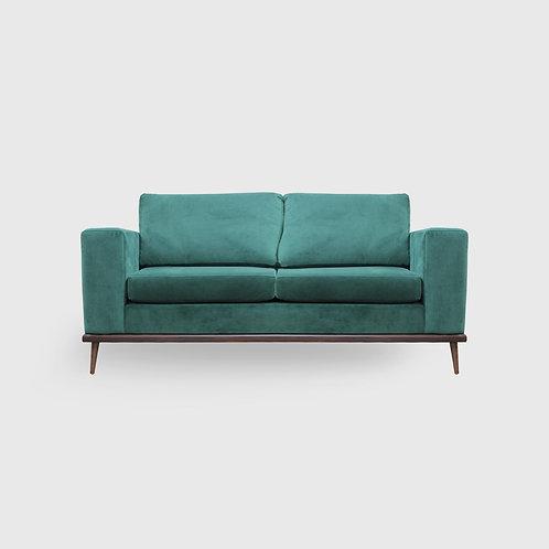 Franses Velvet Wide Arm Sofa