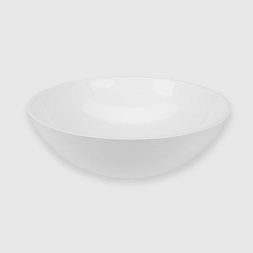 Waterware - Round Basin 400x130mm Gloss White