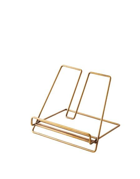 Brass Recipe Book Stand