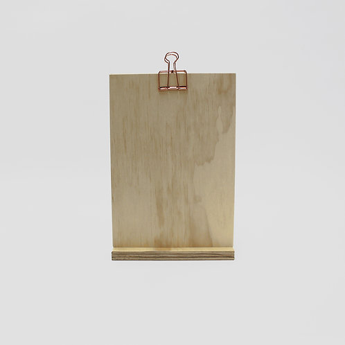 Clip Stand Large - Pine Plywood