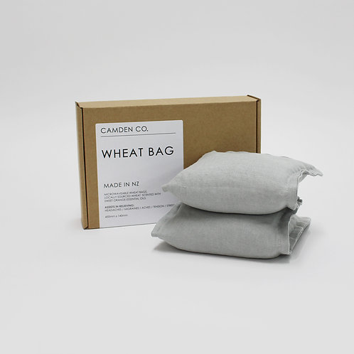 Wheat bag - Dove grey
