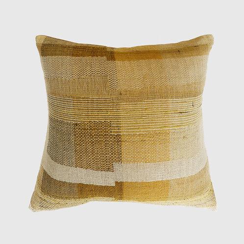 Saratoga Ochre Cushion 50x50 with Feather Inner