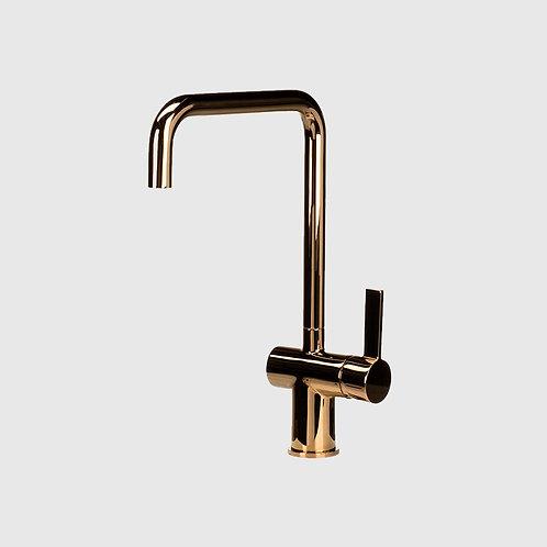 Waterware - Urban Gooseneck Rose Gold Kitchen Mixer