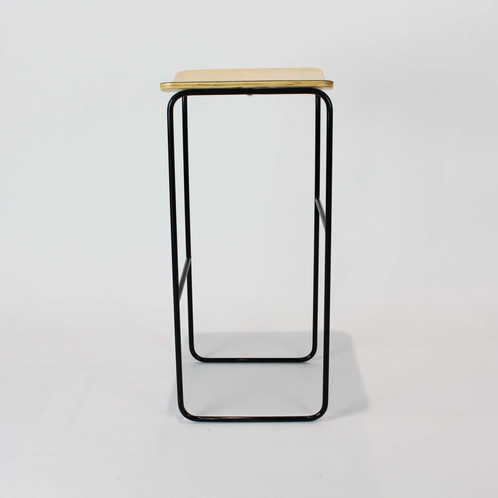 A Spohisated Bar Stool Made In Nz Shown 12mm Birch Plywood With Powder Coated Steel Frame Choose Between White Or Black