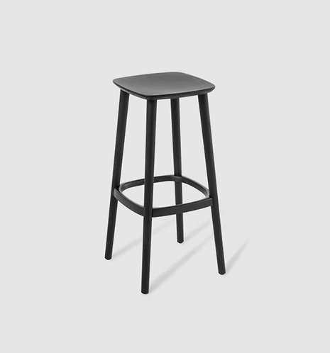 Noma Kitchen Stool - Black Ash