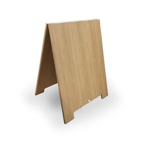 Oak Plywood Road Sandwich Board