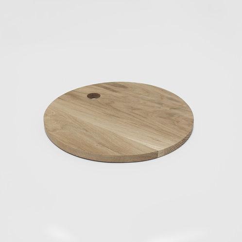 Platter/Chop Board -  Round - Solid Oak