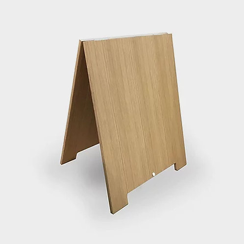 Oak Plywood Road Sandwich Board