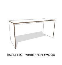 SIMPLE LEG - WHITE HPL PLYWOOD.jpg