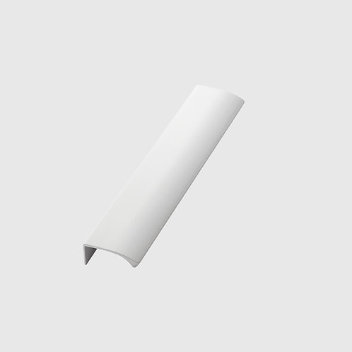 White Furnipart Edge Straight Handle - All Sizes