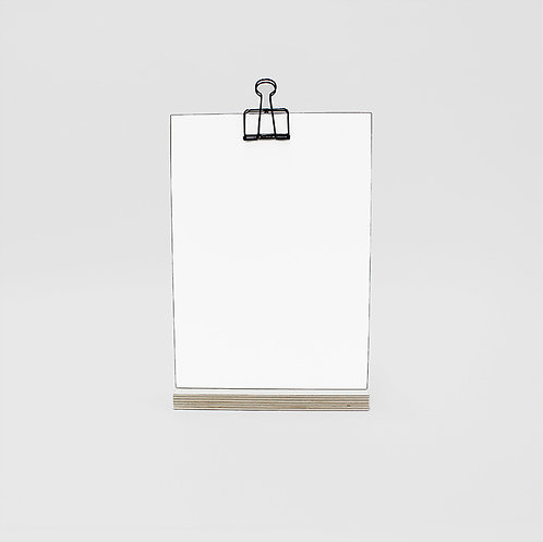Clip Stand Large - SupaWhite