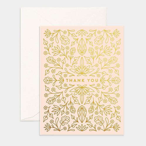 Card Grecian Thank You