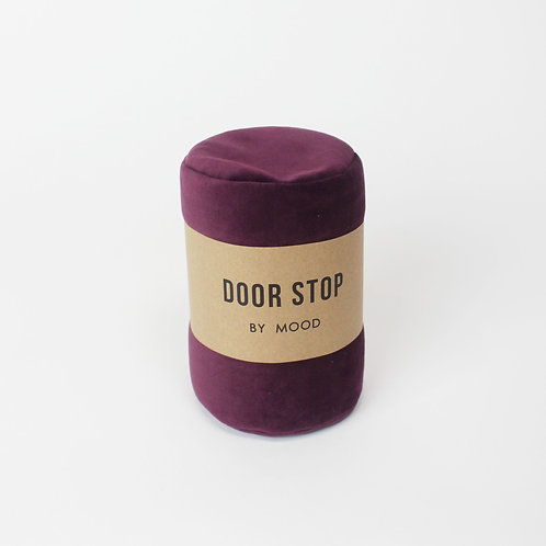 Door Stop - Velvet Violet