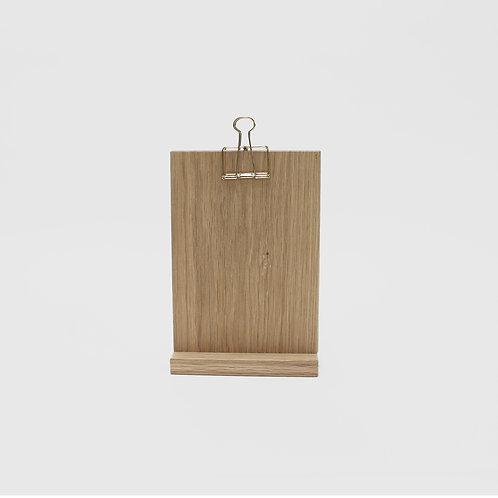 Clip Stand Medium - Solid Oak