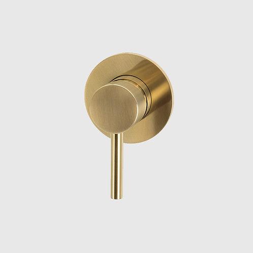Waterware -Scarab Shower or Bath Mixer Brushed Gold