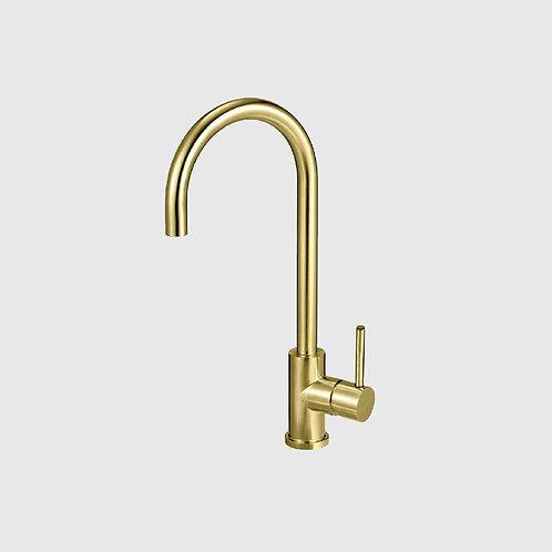Mercer -Aurora Brass Gooseneck Mixer
