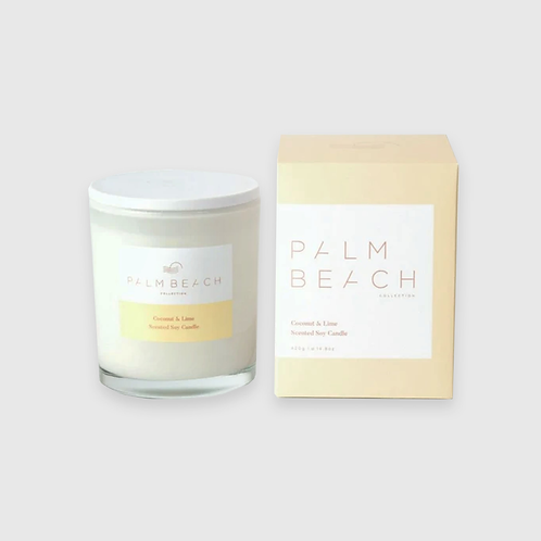 Soy Candle - Coconut and Lime 420G
