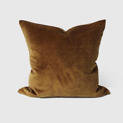 50x50 Cushion - Velvet Ochre
