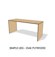 SIMPLE LEG - OAK PLYWOOD.jpg