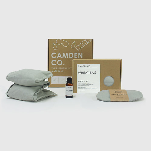 Camden Co Essentials Kit - Gift Package - Dove Grey