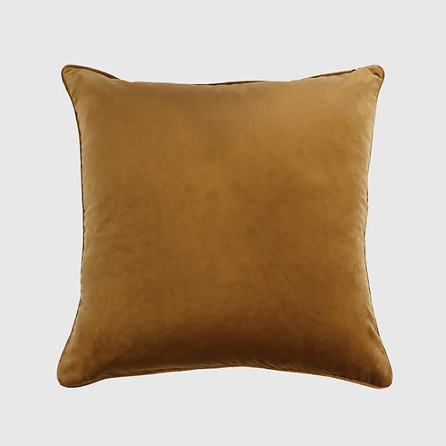 Quattro Brass Cushion 50x50 with Feather Inner