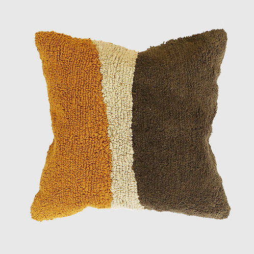 Lagos Olive Cushion 45x45 with Feather Inner