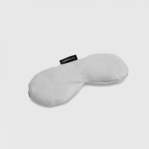 French white eye pillow