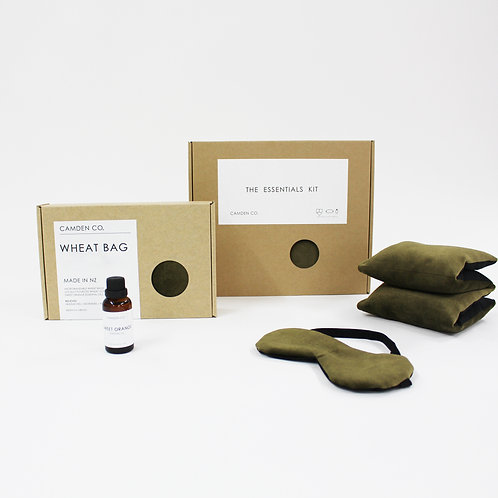 Camden Co Essentials Kit - Gift Package - Olive Velvet